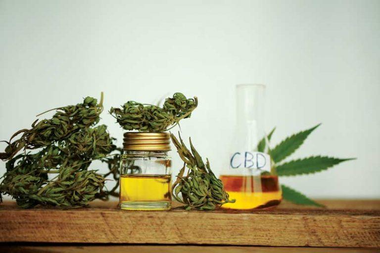 bigstock-Cannabis-Product-Oil-232479163-768x512