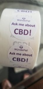Ask Me About CBD! Stickers